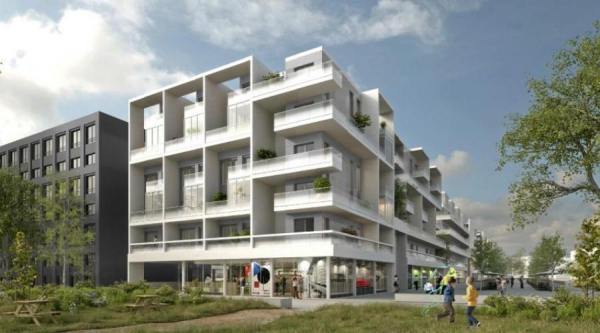 Gif sur Yvette (91) - Lot B4 B5 de la ZAC du Moulon – 166 logements collectifs
